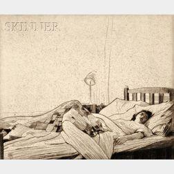William Lee Hankey (British, 1869-1952)      Le Repos.