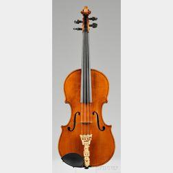 American Violin, John White, Barre, c. 1860
