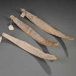 Three Indonesian Shaman's Oracle Bones
