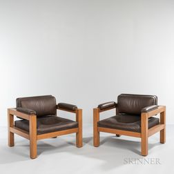 Two Warren Platner (1919-2006) Lounge Chairs
