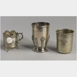 Three Silver Cups