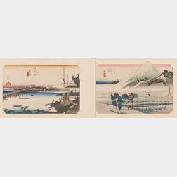 Two Hiroshige Prints
