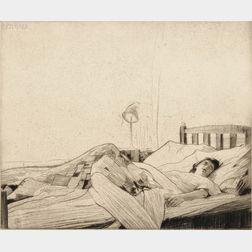 William Lee Hankey (British, 1869-1952)      Le Repos