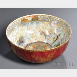 Wedgwood Butterfly Lustre Bowl