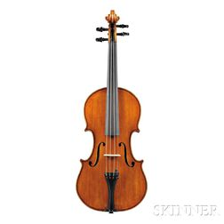 Modern Italian Violin, For the Shop of Antonio Monzino, Milan, 1919