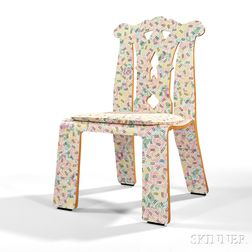 Robert Venturi Grandmother's Tablecloth Chippendale Chair