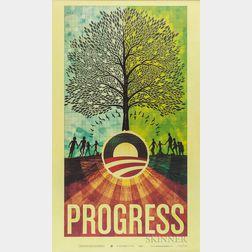 Progress  , Poster for Barack Obama Campaign