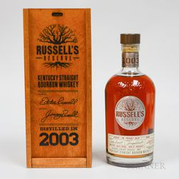 Wild Turkey Russell's Reserve 16 Years Old 2003, 1 750ml bottle (owc)