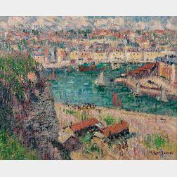 Gustave Loiseau (French, 1865-1935)      L'Avant Port de Dieppe