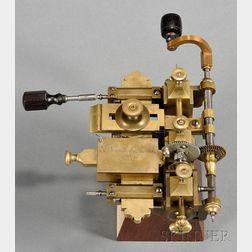 Brass Fusee Engine by Ferdinand Berthoud