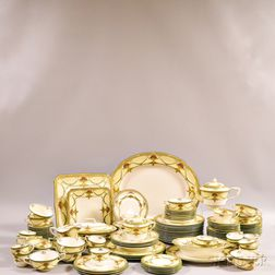"Group of Royal Worcester ""Bristol"" Porcelain Dinnerware.     Estimate $300-500"