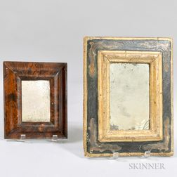Two Painted Mirrors