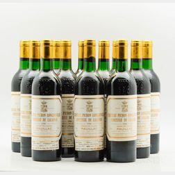 Chateau Pichon Lalande 1986, 12 bottles