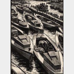 Leo John Meissner (American, 1895-1977)      Chesapeake Boats