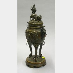 Asian Bronze Incense Burner.