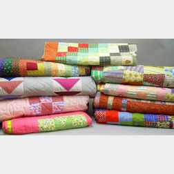 Nine Modern Quilts