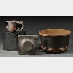 Three William Wyman Studio Vessels
