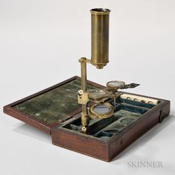 Unmarked Portable Monocular Microscope