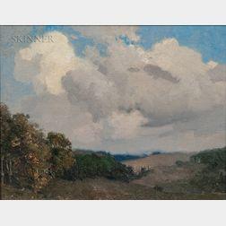 William Jurian Kaula (American, 1871-1953)      Sky and Hills
