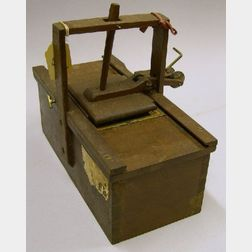 Patent Model of a Felting Machine