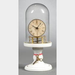 Candlestand Clock by the Terryville Manufacturing Company