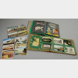Approximately 350 Mostly Early to Mid-20th Century Postcards