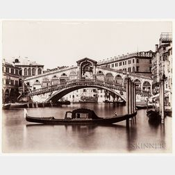 France and Italy, Photographs, Late 19th Century.