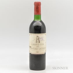 Chateau Latour 1967, 1 bottle
