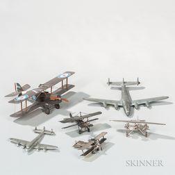 Six Plane Models