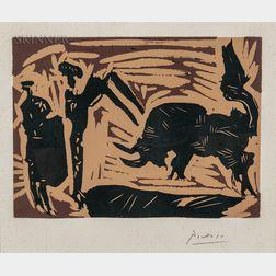 Pablo Picasso (Spanish, 1881-1973)      Banderilles