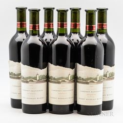 Robert Mondavi Winery Cabernet Sauvignon Reserve, 7 bottles