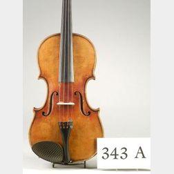 German Violin, Robert Dolling, Marchneukirchen, c. 1930