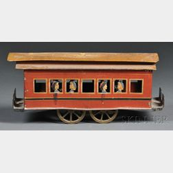 Pressed Steel Train/Trolley Car