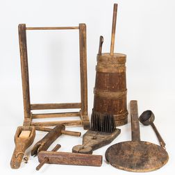 Small Group of Domestic Items