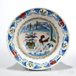 Tin-glazed Earthenware Wash Basin