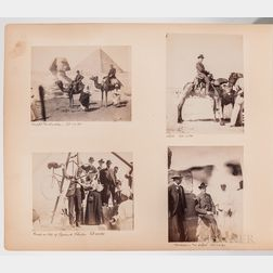 Photo Albums, Grand Tour Voyage, 1895.