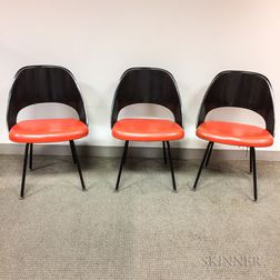 Three Knoll Associates Side Chairs