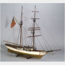 Model of the Survey Yacht Carnegie