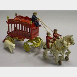 Kenton Cast-Iron Overland Circus Wagon
