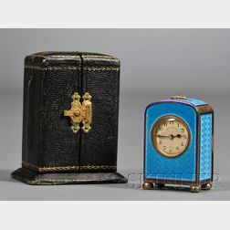 Art Deco Travel Clock