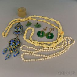 Small Group of Mostly Asian Jewelry