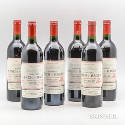 Chateau Lynch Bages 1989, 6 bottles