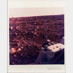 Viking 1, Mars, Six Photographs.