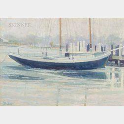 Sam (Samir) Barber (American, b. 1943)      Sailing Vessel