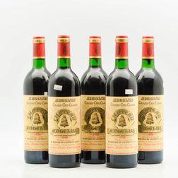 Chateau Angelus 1990, 5 bottles
