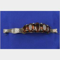 Antique Citrine Bracelet