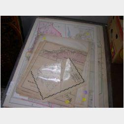 Eight Eastern Massachusetts Atlas Maps and Plans
