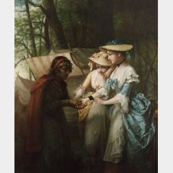 Dennis Malone Carter (American, 1827-1881)  Gypsy Fortune Teller