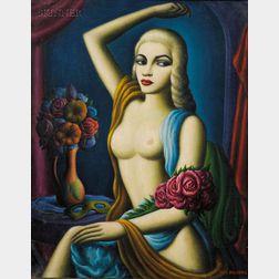 Paul Raphael Meltsner (American, 1905-1966)      Broadway Doll [Jayne Mansfield]