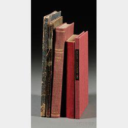 Book Catalogs, Five Volumes: